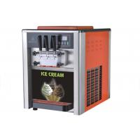 Quality LCD Display Table Top Ice Cream Machine / Commercial Refrigerator Freezer for sale