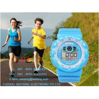 Silicone band color customized High Quality digital Wrist Watch cute design for