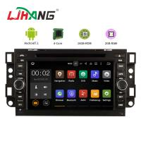 Quality 9 Inch Head Unit Chevrolet Car DVD Player GPS Navigation With Free Map Card for sale