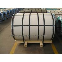 Grade 304 / 2BA No.4 8K 6K + PVC  Stainless Steel Coil Rolls in Size 1000 * 2000mm /  1220 * 2440mm / 1524 * 3048mm