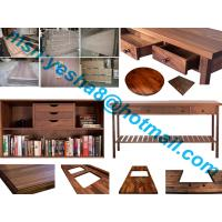 Quality 40mm high quality black walnutu wooden worktop accessories for sale