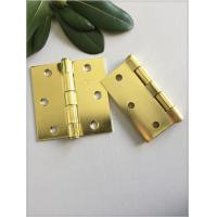 Quality Heavy Duty Garage Door Hinges , Cabinet Door Hinges Anti Rust Surface Polished for sale