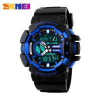 Buy cheap Japan Battery Analog Digital Wrist Watch With Green EL Backlight Double Time from wholesalers