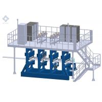 Two Work Position Membrane Panel MAG Welding Machine For Industrial Boiler
