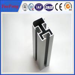 Quality Good!Aluminium industry extrusion profiles, silver anodized profil aluminum per kgs for sale