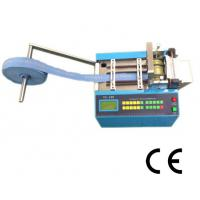 China Velcro Tape Full  Automatic Webbing Cutting Machines Adjustable Speed User Friendly on sale