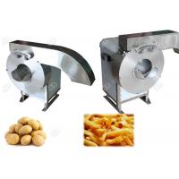 Full Automation Fruit And Vegetable Processing Equipment  , French Potato Chips Cutting Machine