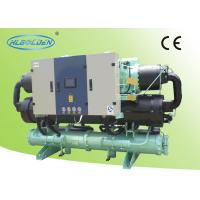 Quality Commercial HVAC Water Cooled Screw Chiller 99kw Heat Recovery To Heat Water for sale