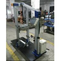 Quality Drop height 50mm  Bike Frame Front / Fork Assembly Impact Test Equipment / Drop Tester ISO 8098 for sale