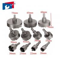 China 14 - 150 Mm Cemented Carbide TCT Hole Saw Apply To Steel Aluminum Iron on sale
