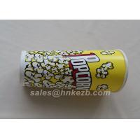 Quality Unfolded 380ml Disposable Ice Cream Paper Cups With Logo Printed 90 * 60 * 110mm for sale