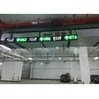 China Indoor Ultrasonic Parking Guidance System , CE Approved Car Park Guidance System on sale