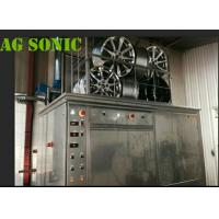 Quality Aircraft Components Ultrasonic Engine Cleaner 360L Tank With Electric Lifting Tyre for sale