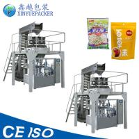 China Reliable Rotary Pouch Packing Machine / Zipper Pouch Packing Machine For Granules on sale