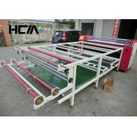 Quality 220V 380V Roller Sublimation Printing Machine Low Electricity For Flag Printing for sale