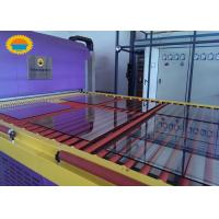 Quality Architecture Tempered Glass Making Machine / Glass Tempering Line CE Certification for sale