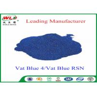 Quality High Stability Indigo Blue Dye Textile Dyeing Chemicals Water Resistant for sale