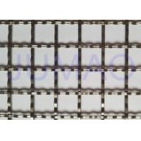 Quality Storage Cabinet Screen Mesh , Polished Brass Decorative Mesh For Cabinet Doors for sale