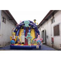 Quality Spongebob Inflatable Glorious Slide for sale