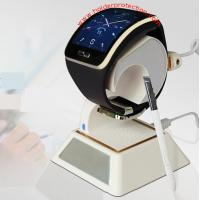 Quality COMER Open display merchandises protection solution stands with alarm security for smart watch for sale