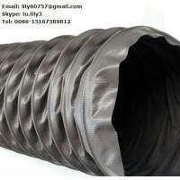 Quality pvc coated tarpaulin canvas for mine air duct for sale