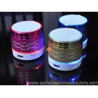 Best Mini Colorful Light Shinning marquee Portable Bluethooth Speaker support mobile remote control operation wholesale