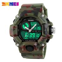 Quality Shock Resist Digital Sport Watch , Dual Time Japan Digital Analog Watches for sale