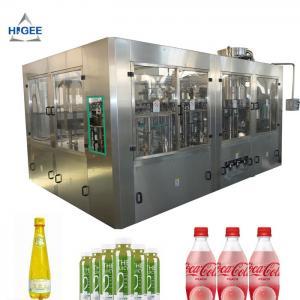 Quality Soft Drink Beverage Filling Machine 6000 BPH Filling Speed For PET Bottle for sale