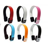 Best High quality BH-02 the Bluetooth 3.0 Headset Stereo Headband Music Wireless Headset with Microphone wholesale