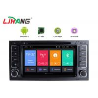 Quality Android 8.1 VW Touareg Volkswagen DVD Player With Wifi BT GPS AUX Video for sale
