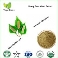 Quality Horny Goat Weed Extract supplement for better libido, Epimedium Extract for impotence for sale