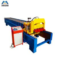 Quality Color Steel Plate Aluminium Glazing Roofing Tile Forming Machine 18 Rows for sale