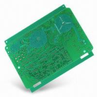 China Flash Gold Plating Double Side PCB With Peelable Mask FR4 on sale