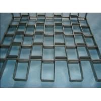 Quality Stainless Honeycomb Belts,Flat Wire Mesh Belting,Air Quenching Flex Metal Conveyor Belt for sale