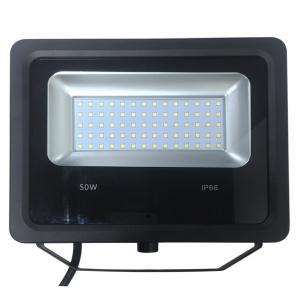Quality Die-casing aluminum 50W PIR LED Flood Light with detection range 120 degree for sale