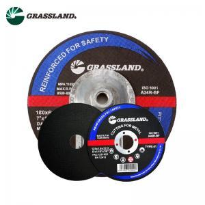 Quality 5 Inch Reinforced Fiberglass Metal Cut Off Discs 125 X 3.2 X 22Mm for sale