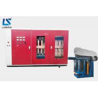 Quality 5T Steel Shell Industrial Electric Induction Melting Furnace Smelting Metal for sale