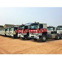 Quality HOWO Automatic Tractor Truck40 - 80 Tons Payload Capacity HW76 Cab for sale