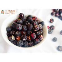 China HACCP Certified Freeze Dried Fruit Blueberries Snack Original Fragrance on sale