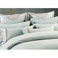 China King Size  Poly / Cotton Jacquard Bedding Set Mixed Designs For Hotel on sale