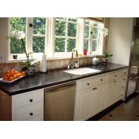 Quality Countertops - Absolute Black Granite Countertops For Kitchen Design for sale