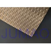 Quality Light Architectural Metal Fabric Customized Art Wire Mesh For Space Divider for sale
