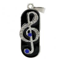 China Music Note Design Custom Usb Flash Drives , Personalized Thumb Drive Pendrive on sale