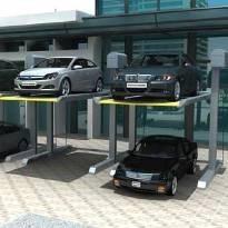 China Home Auto Parking Garage , Garage Parking System Button Remote Control on sale