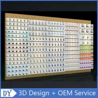 a480adc0de Mobile phone shop interior accessories wall display
