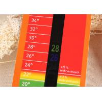 Best 14℃ ~ 36℃ Household LCD Room Thermometer Card for Promotion Gift / Advertising Media wholesale