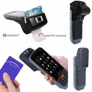 Quality Intelligent GPS 3G Wireless Fingerprint Scanner Bar Code RFID Reader for sale