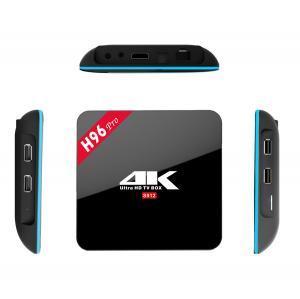 H96 Pro Amlogic S912 64bit Dual Wifi KODI 17.3 Pre-installed Android 7.1 TV Box