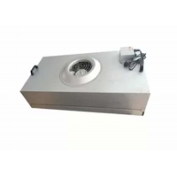 Quality Clean Room Hepa Fan Filter Unit Coil Filtered Exhaust Fan Galvanized Plate for sale