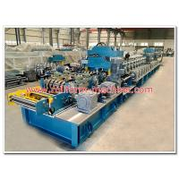 Quality Two Waves Steel Expressway Guard Rail Making Machine with Gear Box Transmission for sale